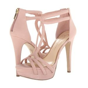 Jessica Simpson Salvati T-Strap Platform Sandals